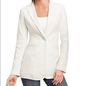 CAbi Everly Blazer in White New with Tags